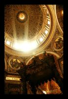 San Pietro in Vaticano by fxcreatography