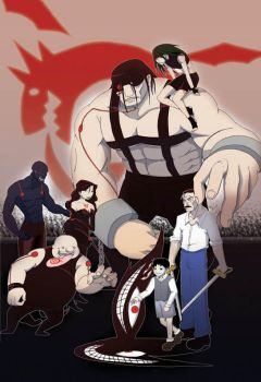 Sample Poster Full Metal Alchemist by pound-key