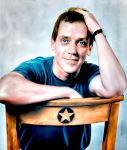 Hugh Laurie by ignaciaOK