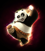 Kung Fu Panda by LS-Design