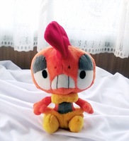 Scrafty Pokedoll by xBrittneyJane