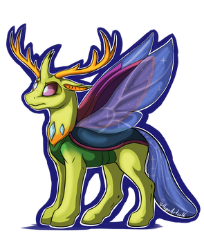 King Thorax by Voltage-Art