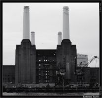 Battersea Towers by ChkyMnky