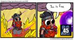 This is fine.jpg by Borishehe