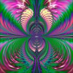 Psychedelic Angel Wings by ur1crazedupfruitloop