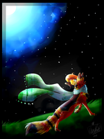 Art:Trade:With:Flareheat25 ~::Tell:Me::~ by Neon-paw