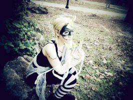 Halloween Town Larxene Cosplay by DonationForPlushies