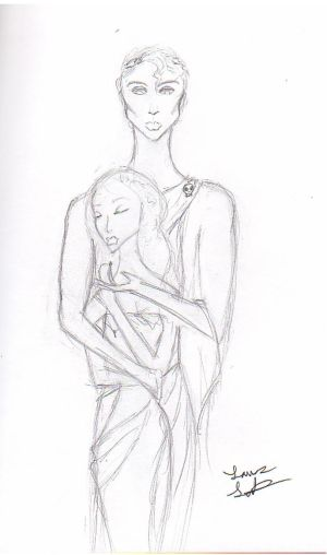 Hades and Persephone Sketch