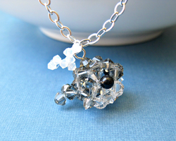Gray Whale Necklace by SparkleMeHappy