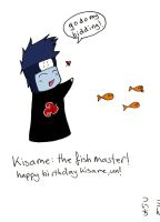Kisame the fish master by spryte-21