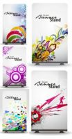 Dynamic Elements Of Fine Patterns Boards Vector by blitherjust