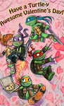 Turtle Valentine by sharkie19