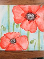 Poppies by Onevartist