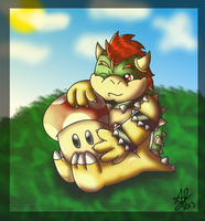 Collab- Lil' Bowser by AwsmYoshi
