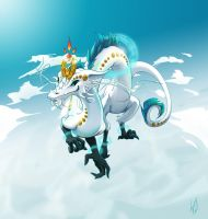 Mirage Dragon - Color by real-k