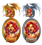 Blizzcon Badge examples (Vennecca) by VenneccaBlind