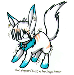 Art Trade- KellyKell -Neopet by Fyuvix