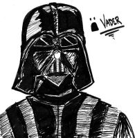 D:  Vader by angelrinoa