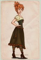Mme Beatrice's: Molly by Ninidu