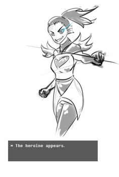 The Heroine Appears by Ssikaijeo