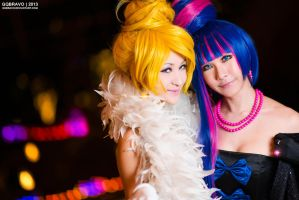 Girl's Night Out - Panty and Stocking by Mostflogged