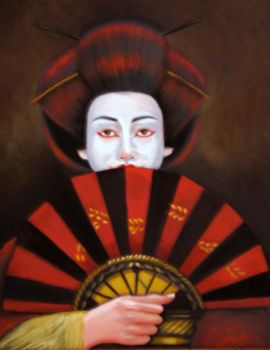 Geisha The Mask by mklanglo