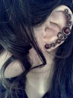 Dark Vine Ear Cuff by JynxsBox