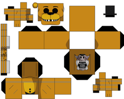 Golden Freddy 2 by hollowkingking