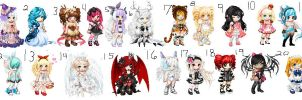 Easter adopts~ CLOSED!! by Leafy089