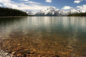 A Snippet of the Tetons by Wethrildae