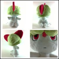 Ralts plush (for sale) by LRK-Creations