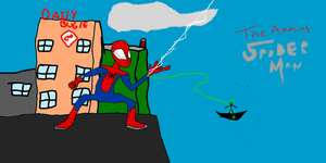Random Spider-Man Doodle by TheUltimateSpiderFan