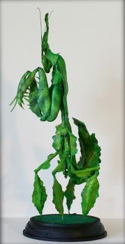 Ghost Mantis (completed sculpt) by SculptorScotty