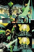 Green lantern Color sample by Elforim