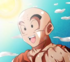 DragonBall Z Krillin by Mr123GOKU123