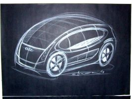 """maybe a new audi """" A1 """" by p-sketch"""