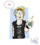Mikey for LonelyDays17. by GreenDayComix