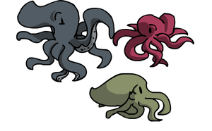 OCTOPUSSEEESSSS by Emmabebe