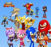 Sonic Boom (Video Games and TV Shows) by 9029561