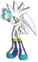 Silver The Hedgehog by BloomPhantom