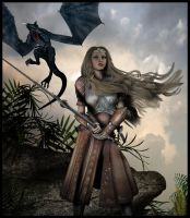 Dragonlance - Laurana by 7Sins7