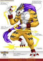 L'Pokedex 243 - Raikou FR by Pokemon-FR