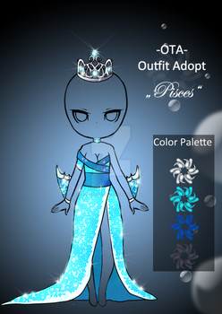 (closed) Offer to adopt - Pisces by CherrysDesigns