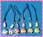 phone-strap little onigiri by ponyania