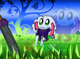 "Lunaria ""On the spring field"" by Green-Kirby"
