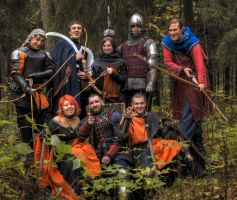 Robin Hood and his team by Foto-Hunter