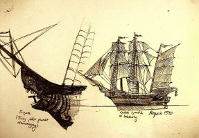 Project of ship ,,Requin'' by elicenia