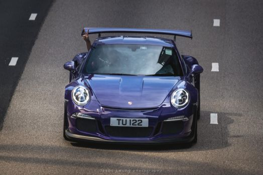 A Happy driver with his gorgeous 911GT3 RS by IssacLPH