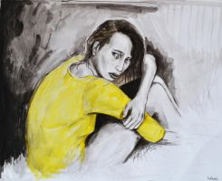 Girl in Yellow by nemosplace