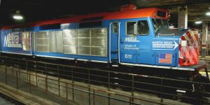 Metra F40C 611 on Display by JamesT4